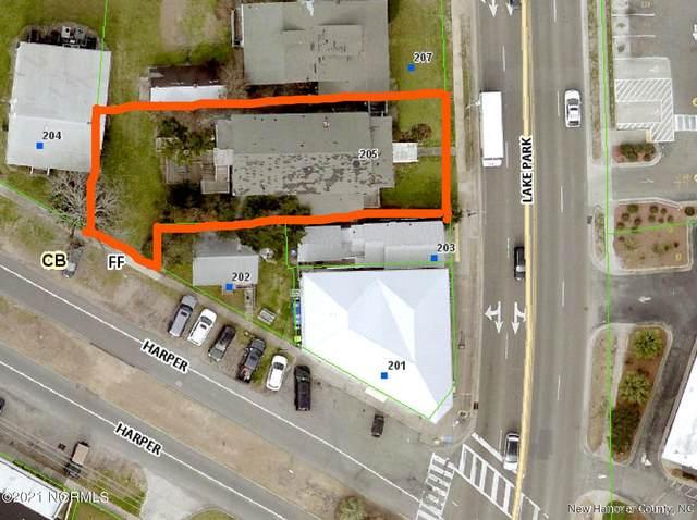 205 N Lake Park Boulevard, Carolina Beach, NC 28428 (MLS #100288770) :: Holland Shepard Group