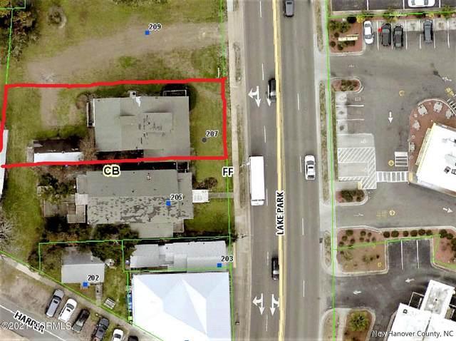 207 N Lake Park Boulevard, Carolina Beach, NC 28428 (MLS #100288816) :: Berkshire Hathaway HomeServices Prime Properties