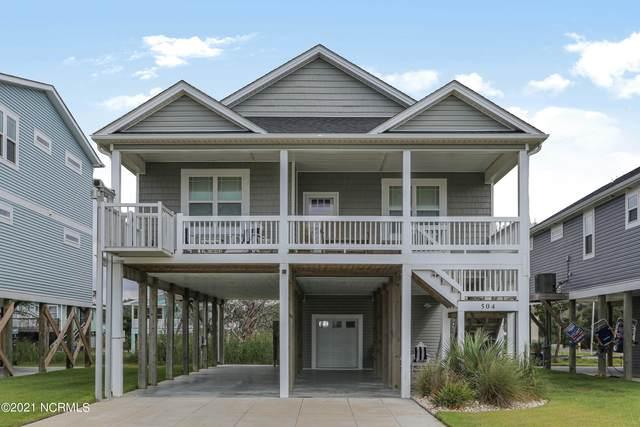 504 W Dolphin Drive, Oak Island, NC 28465 (MLS #100290044) :: Courtney Carter Homes