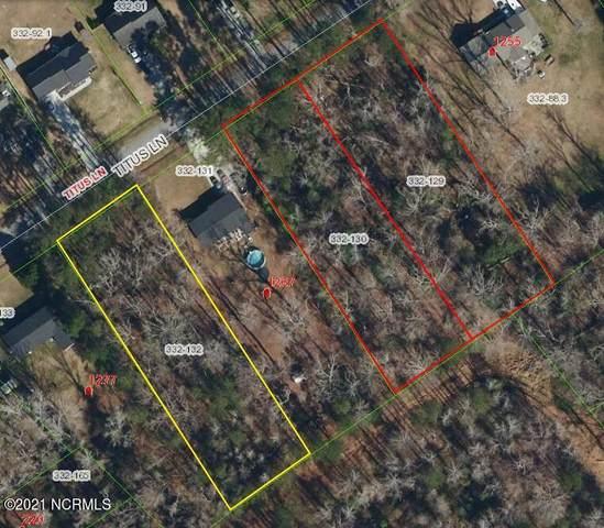Tbd Titus Lane, Jacksonville, NC 28540 (MLS #100292125) :: Berkshire Hathaway HomeServices Hometown, REALTORS®