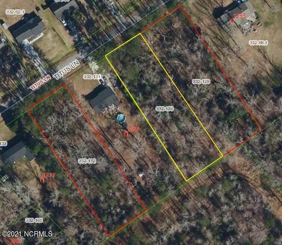 Tbd Titus Lane, Jacksonville, NC 28540 (MLS #100292127) :: Berkshire Hathaway HomeServices Hometown, REALTORS®