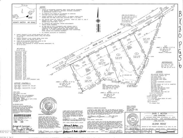 1762 Rocky Run Road, Jacksonville, NC 28546 (MLS #100293768) :: Lejeune Home Pros of Century 21 Sweyer & Associates