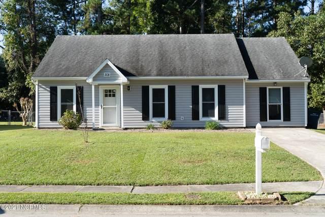 208 E Lakeridge Lndg Landing, Jacksonville, NC 28546 (MLS #100295313) :: Stancill Realty Group