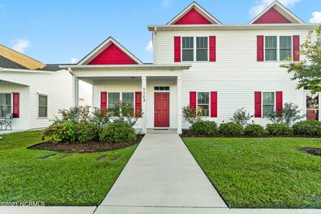 1103 Pirates Landing Drive, Beaufort, NC 28516 (MLS #100295326) :: Berkshire Hathaway HomeServices Prime Properties