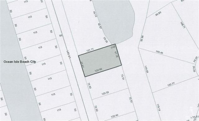 8 Lee Street, Ocean Isle Beach, NC 28469 (MLS #20679322) :: Century 21 Sweyer & Associates