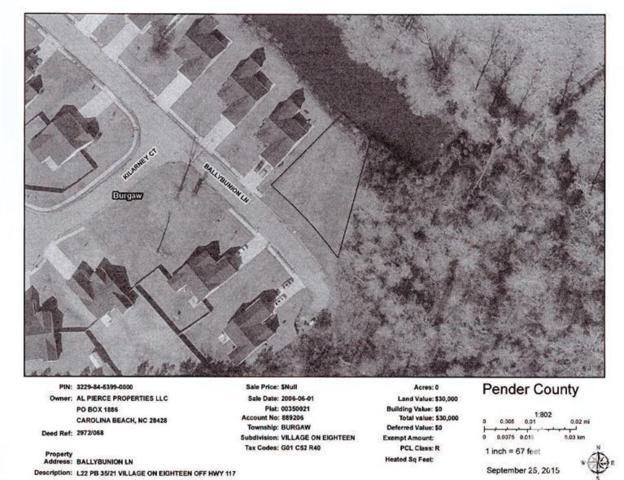 22 Ballybunion Lane, Burgaw, NC 28425 (MLS #30528715) :: Century 21 Sweyer & Associates