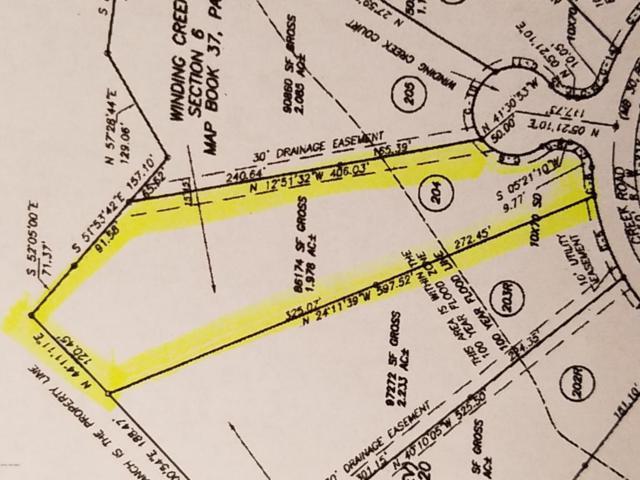 204 Winding Creek Road, Rocky Point, NC 28457 (MLS #100041384) :: Century 21 Sweyer & Associates
