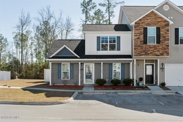141 Waterstone Lane, Jacksonville, NC 28546 (MLS #100099074) :: Century 21 Sweyer & Associates