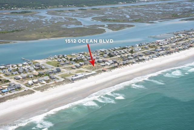 1512 Ocean Boulevard, Topsail Beach, NC 28445 (MLS #100127566) :: Vance Young and Associates