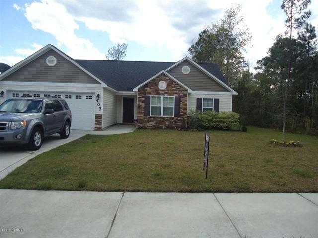 407 Hidden Oaks Drive, Jacksonville, NC 28546 (MLS #100130412) :: The Oceanaire Realty