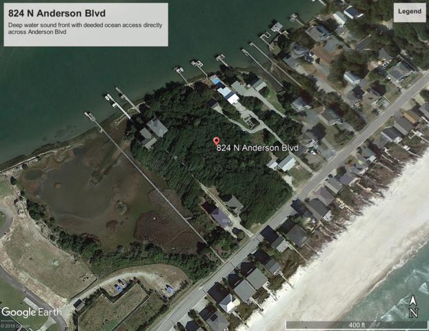 824 N Anderson Boulevard, Topsail Beach, NC 28445 (MLS #100137132) :: Vance Young and Associates