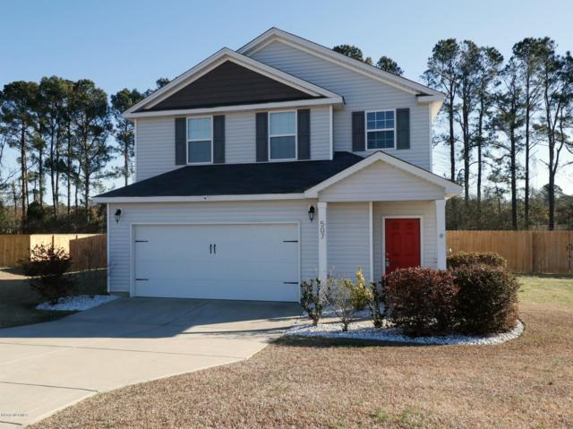 507 Shelmore Lane, Jacksonville, NC 28540 (MLS #100145504) :: Century 21 Sweyer & Associates