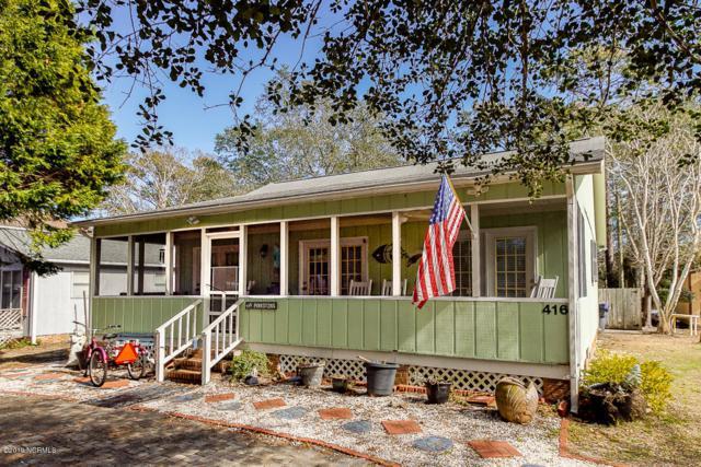 416 Crowell Avenue, Oak Island, NC 28465 (MLS #100148390) :: Berkshire Hathaway HomeServices Prime Properties