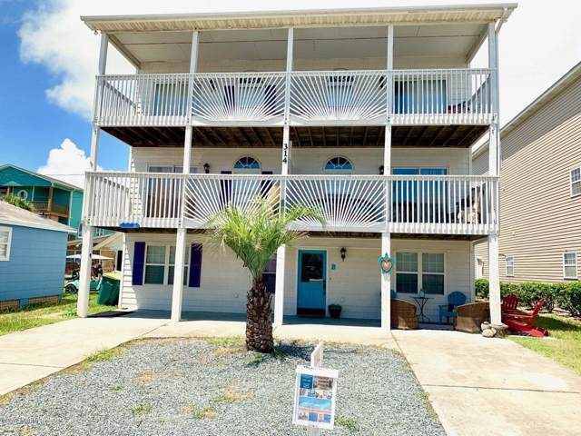 314 S Fort Fisher Boulevard B, Kure Beach, NC 28449 (MLS #100167590) :: RE/MAX Essential