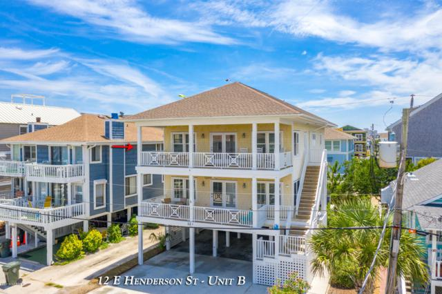 12 E Henderson Street B, Wrightsville Beach, NC 28480 (MLS #100173933) :: The Keith Beatty Team
