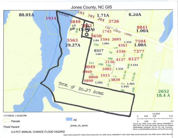 00 Goshen Road, Pollocksville, NC 28573 (MLS #100192810) :: David Cummings Real Estate Team