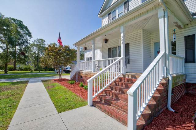 304 Marine Drive, Sneads Ferry, NC 28460 (MLS #100236631) :: Frost Real Estate Team