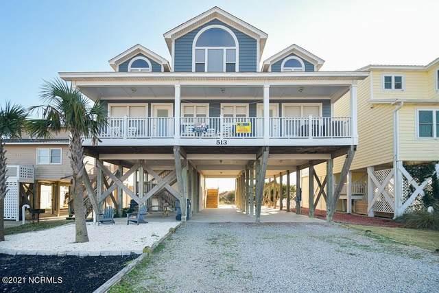 513 Ocean Boulevard W, Holden Beach, NC 28462 (MLS #100249072) :: Carolina Elite Properties LHR