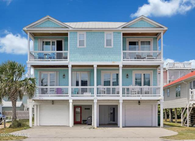217 Fort Fisher Boulevard N A, Kure Beach, NC 28449 (MLS #100262676) :: Vance Young and Associates