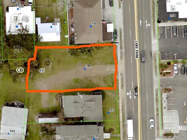 209 N Lake Park Boulevard, Carolina Beach, NC 28428 (MLS #100288894) :: Berkshire Hathaway HomeServices Prime Properties