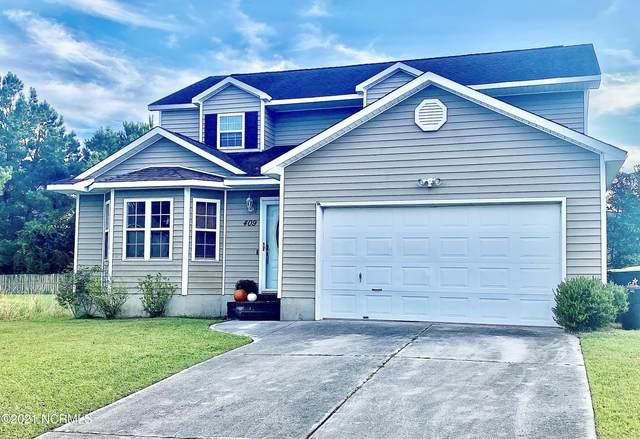 409 Eucalyptus Lane, Jacksonville, NC 28546 (MLS #100291364) :: Berkshire Hathaway HomeServices Hometown, REALTORS®