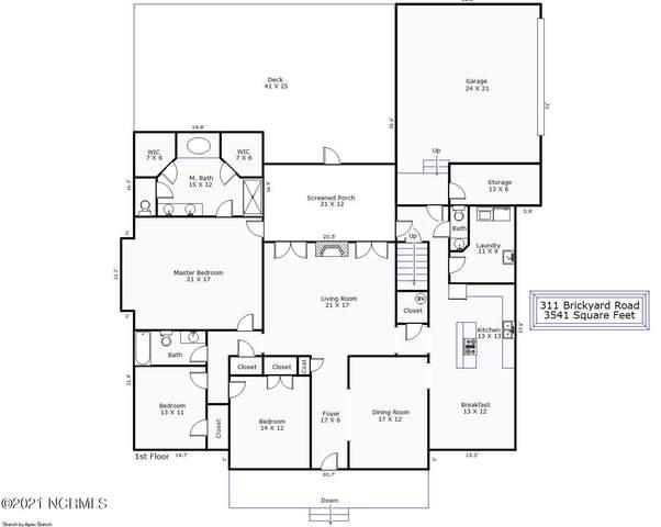 311 Brick Yard Road, Hampstead, NC 28443 (MLS #100295459) :: Vance Young and Associates