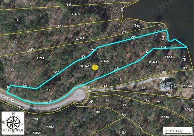 Lot 18 Davis Lane, Belhaven, NC 27810 (MLS #100062746) :: Century 21 Sweyer & Associates