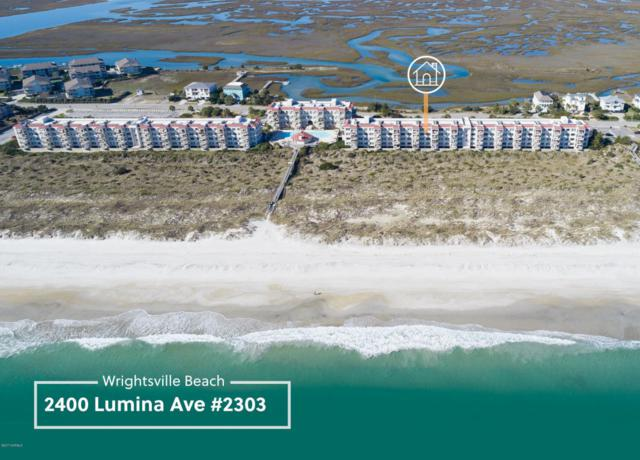 2400 Lumina Avenue N #2303, Wrightsville Beach, NC 28480 (MLS #100091913) :: Century 21 Sweyer & Associates