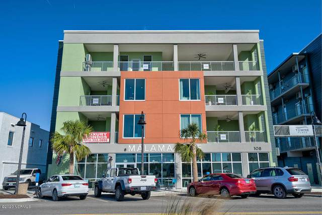 108 Cape Fear Boulevard #401, Carolina Beach, NC 28428 (MLS #100215353) :: The Rising Tide Team