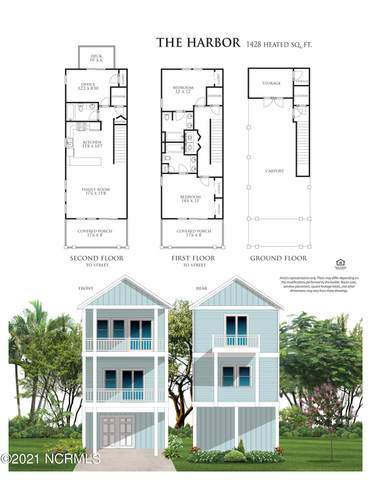 Lot 12 Wahoo Street, North Topsail Beach, NC 28460 (MLS #100224291) :: The Cheek Team