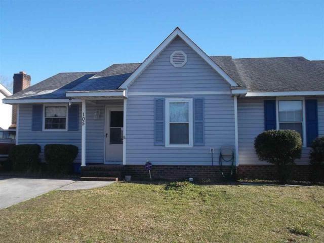 105 Creekview Drive, Jacksonville, NC 28540 (MLS #80175716) :: Century 21 Sweyer & Associates