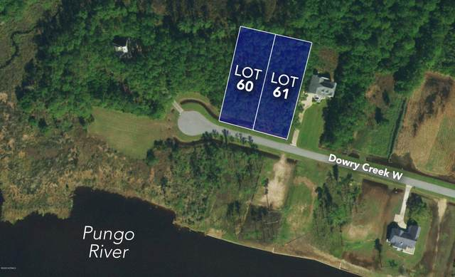 Lots 60&61 Dowry Creek W, Belhaven, NC 27810 (MLS #100236368) :: Destination Realty Corp.