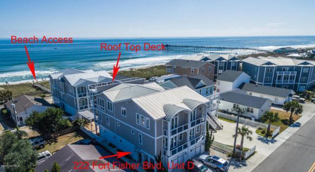 222 Fort Fisher Boulevard N D, Kure Beach, NC 28449 (MLS #100086101) :: RE/MAX Essential