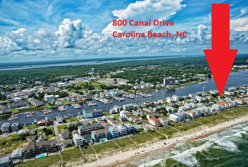 800 Canal Drive, Carolina Beach, NC 28428 (MLS #100001708) :: Century 21 Sweyer & Associates