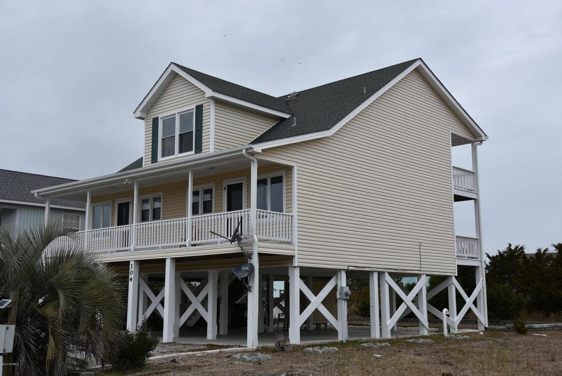 304 Brunswick Avenue W, Holden Beach, NC 28462 (MLS #100002771) :: Century 21 Sweyer & Associates