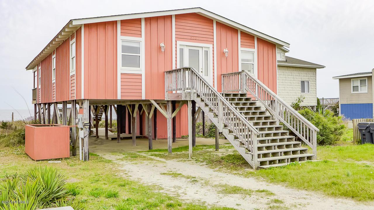 5107 W Beach Drive, Oak Island, NC 28465 (MLS #100005673) :: Century 21 Sweyer & Associates