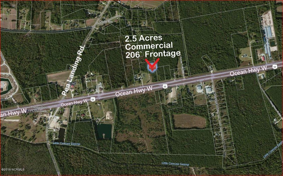 2.5 Us- Hwy 17 N, Calabash, NC 28467 (MLS #100008765) :: Century 21 Sweyer & Associates