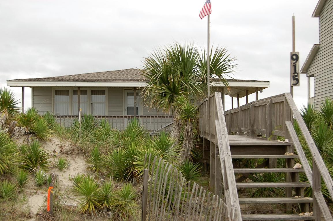 915 Ocean Boulevard W, Holden Beach, NC 28462 (MLS #100013427) :: Century 21 Sweyer & Associates