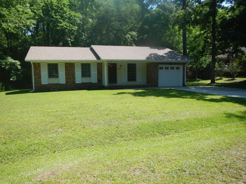 207 W Sherwood Drive, Havelock, NC 28532 (MLS #100014303) :: Century 21 Sweyer & Associates