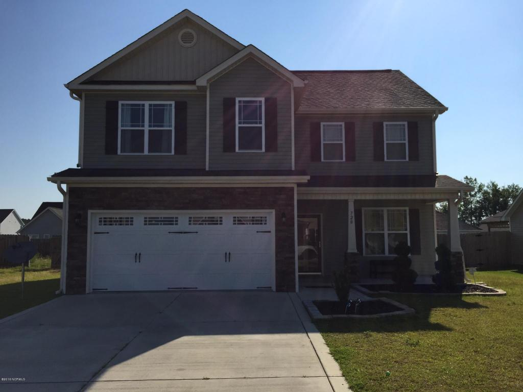 720 Radiant Drive, Jacksonville, NC 28546 (MLS #100014501) :: Century 21 Sweyer & Associates
