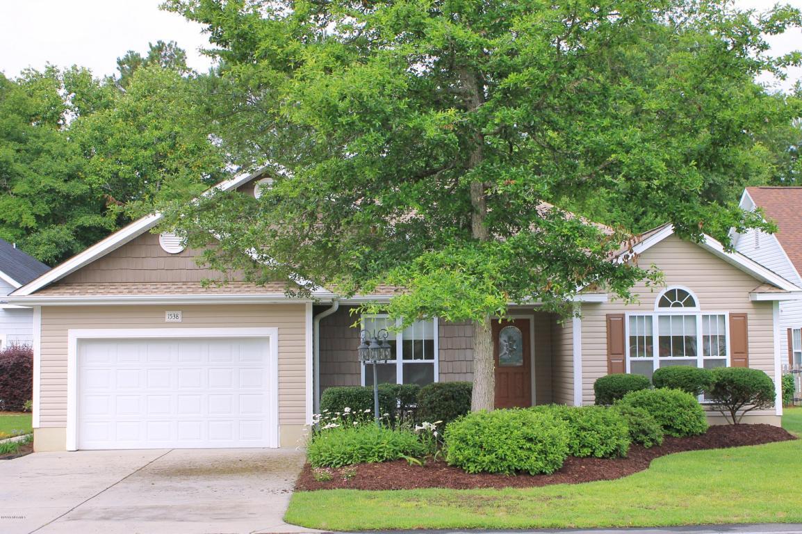 1538 Moorings Circle SW, Ocean Isle Beach, NC 28469 (MLS #100015458) :: Century 21 Sweyer & Associates