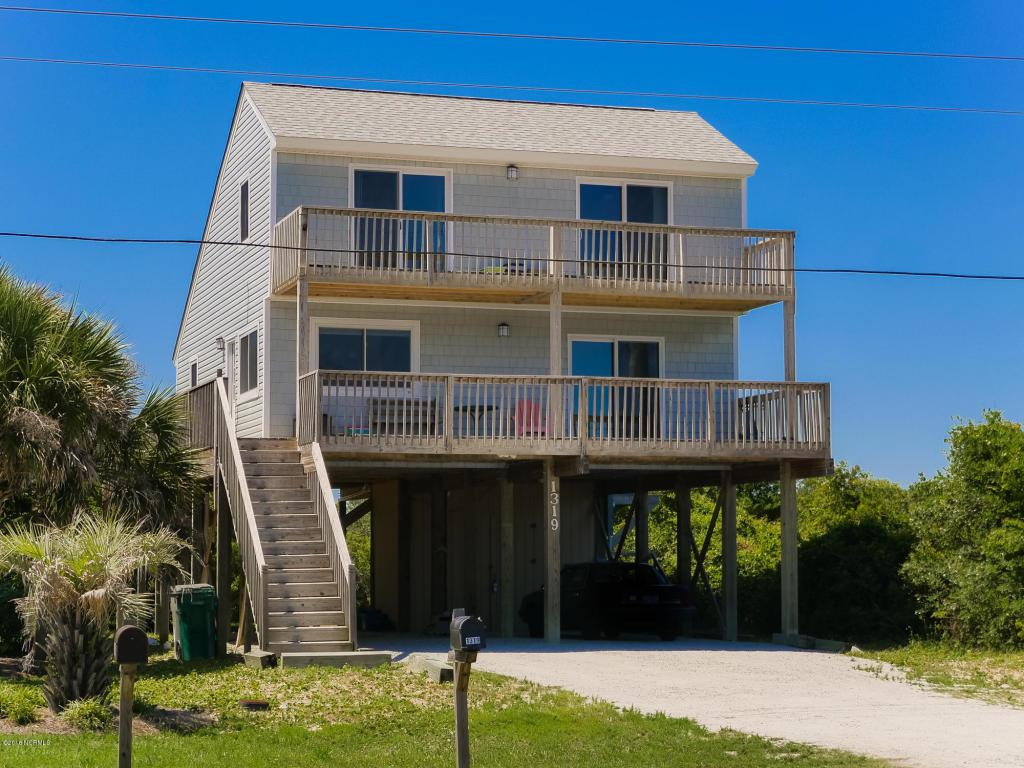 1319 N New River Drive, Surf City, NC 28445 (MLS #100017288) :: Century 21 Sweyer & Associates