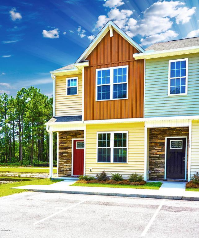 101 Beacon Woods Drive 1-1, Holly Ridge, NC 28445 (MLS #100017699) :: Century 21 Sweyer & Associates