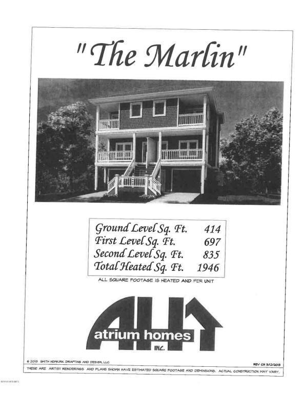 902 6th Street S #1, Carolina Beach, NC 28428 (MLS #100019010) :: Century 21 Sweyer & Associates