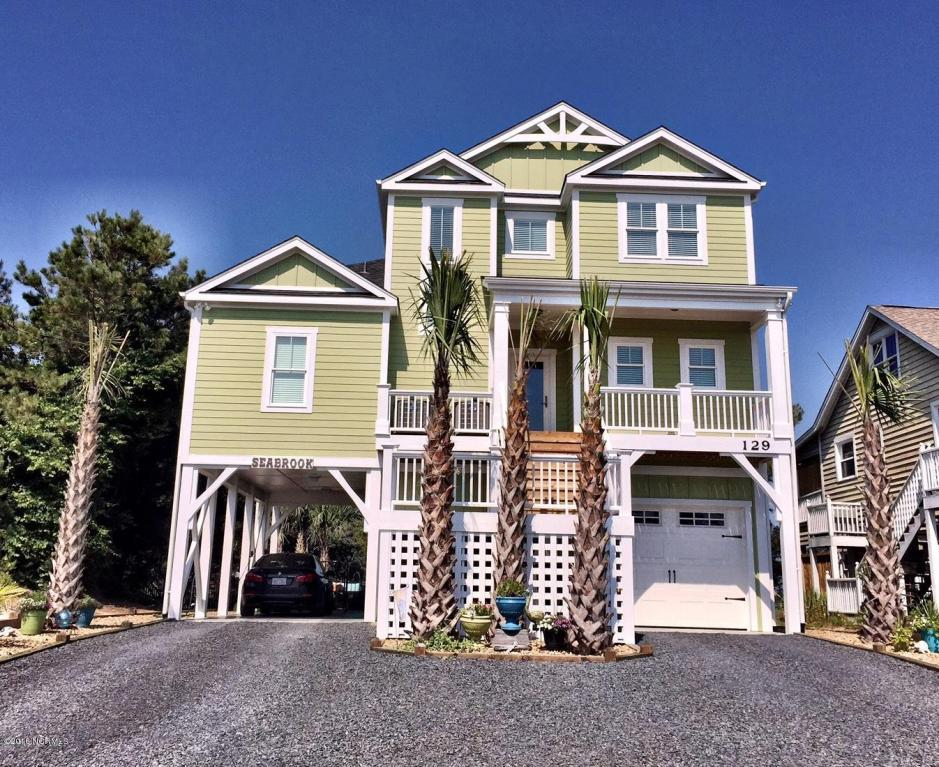 129 Sea Gull Drive, Holden Beach, NC 28462 (MLS #100019056) :: Century 21 Sweyer & Associates