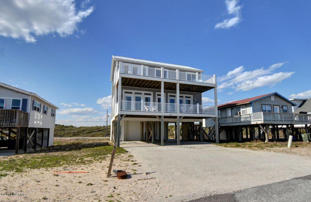 649 Ocean Drive, North Topsail Beach, NC 28460 (MLS #100019358) :: Century 21 Sweyer & Associates