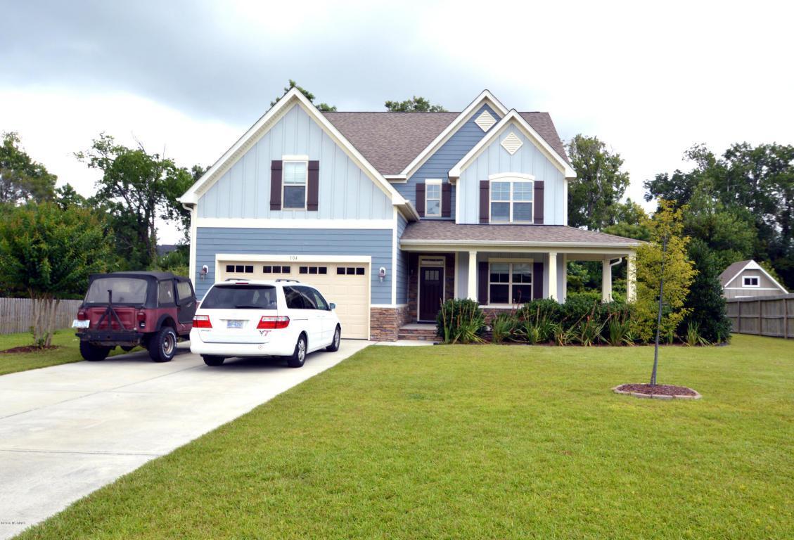 104 Little Bay Drive, Cedar Point, NC 28584 (MLS #100019371) :: Century 21 Sweyer & Associates