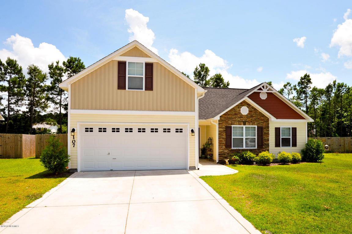 107 Stonecroft Lane, Jacksonville, NC 28546 (MLS #100020240) :: Century 21 Sweyer & Associates