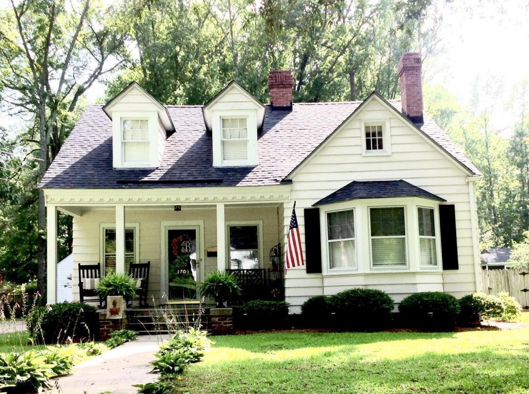 1705 Kenan Street NW, Wilson, NC 27893 (MLS #100021166) :: Century 21 Sweyer & Associates