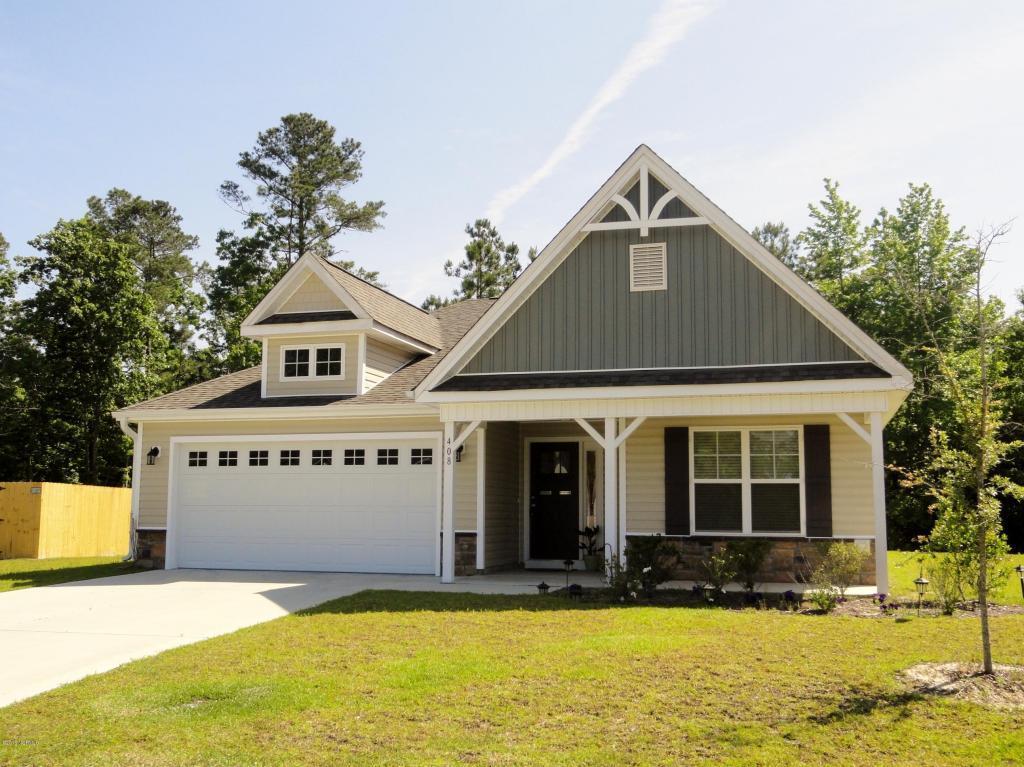 408 Hidden Oaks Drive, Jacksonville, NC 28546 (MLS #100021207) :: Century 21 Sweyer & Associates